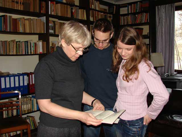 Wizyta u pani Danuty Kuroń