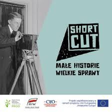 Logo projektu Shortcut - małe historie, wielkie sprawy