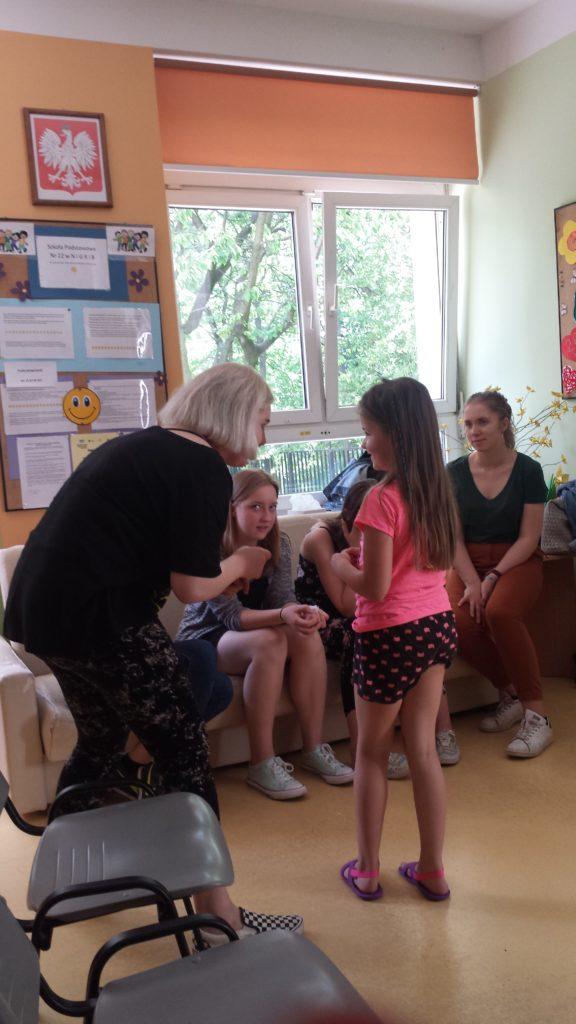 Wolontariat szkolny z dziećmi